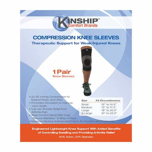 Knee Brace package front 510