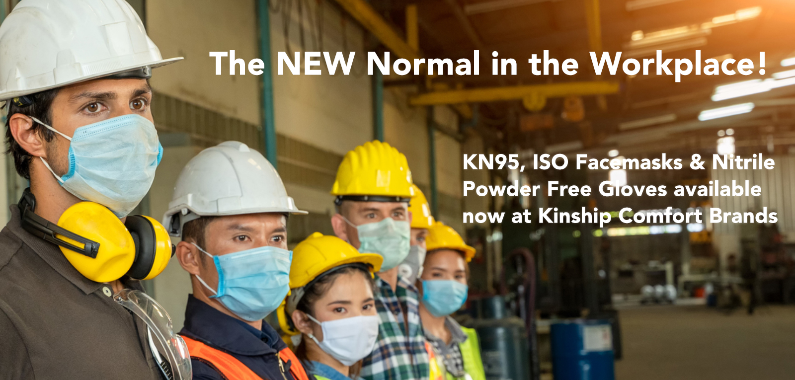 KN95 Facemasks, ISO Facemasks ang Nitrile Gloves